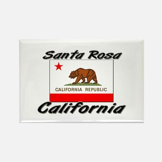 Santa Rosa California Rectangle Magnet