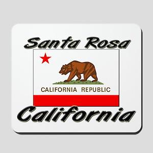 Santa Rosa California Mousepad