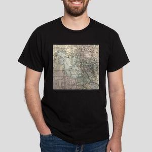 Vintage Map of Salt Lake City (1891) T-Shirt