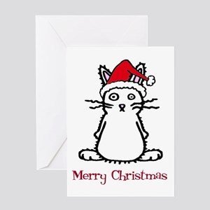 Santa Bunny Greeting Card