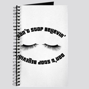 Don`t stop believin' Journal