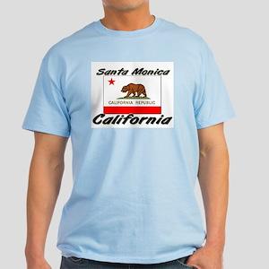 Santa Monica California Light T-Shirt