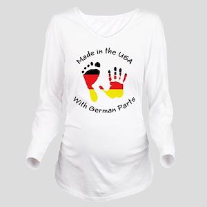 oct86 Long Sleeve Maternity T-Shirt