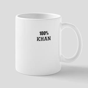 100% KHAN Mugs