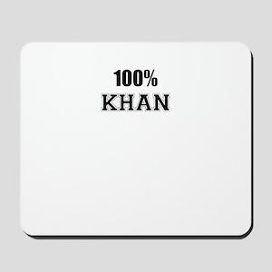 100% KHAN Mousepad