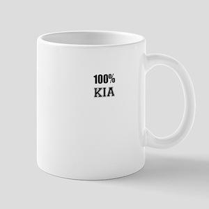 100% KIA Mugs