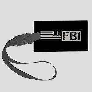FBI: FBI (Black Flag) Large Luggage Tag