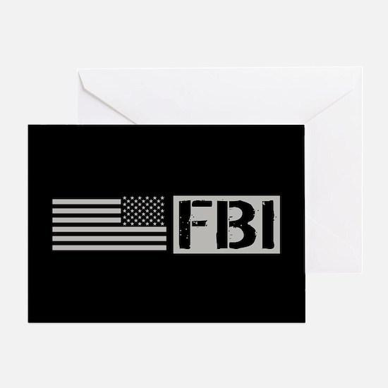 FBI: FBI (Black Flag) Greeting Card