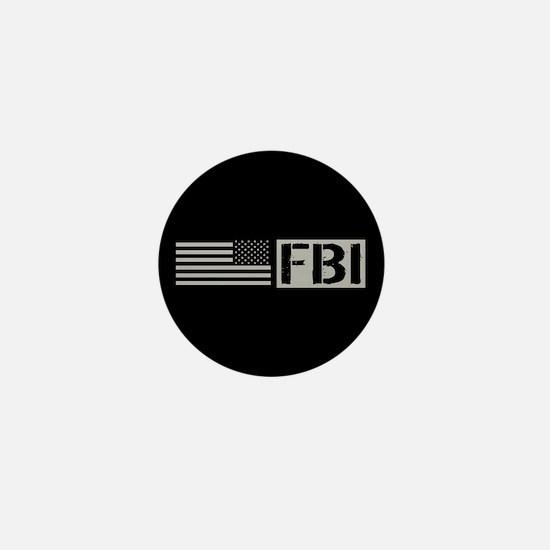 FBI: FBI (Black Flag) Mini Button