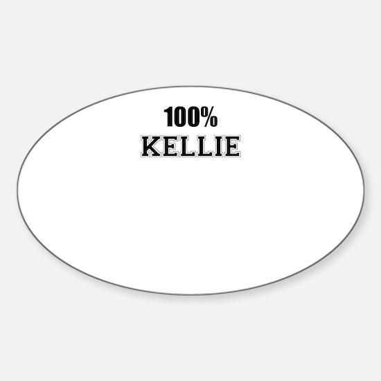 100% KELLIE Decal
