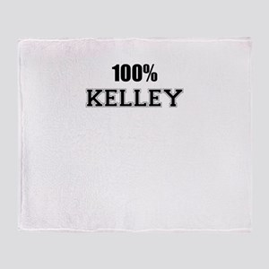 100% KELLEY Throw Blanket
