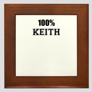 100% KEITH Framed Tile