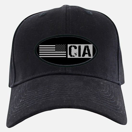 CIA: CIA (Black Flag) Baseball Hat