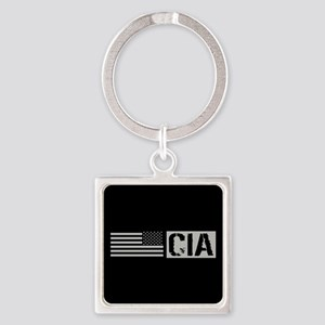 CIA: CIA (Black Flag) Square Keychain
