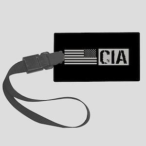 CIA: CIA (Black Flag) Large Luggage Tag