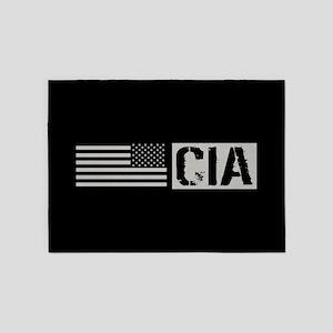 CIA: CIA (Black Flag) 5'x7'Area Rug