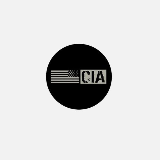 CIA: CIA (Black Flag) Mini Button