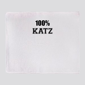 100% KATZ Throw Blanket