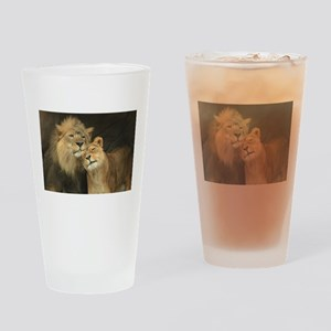 LOVE AT FIRST Drinking Glass