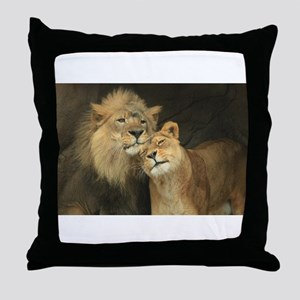 LOVE AT FIRST Throw Pillow