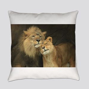 LOVE AT FIRST Everyday Pillow
