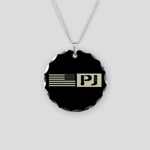 U.S. Air Force: Pararescue ( Necklace Circle Charm
