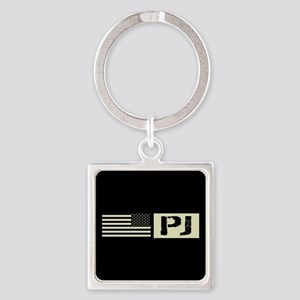 U.S. Air Force: Pararescue (Black Square Keychain