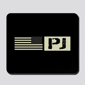 U.S. Air Force: Pararescue (Black Flag) Mousepad