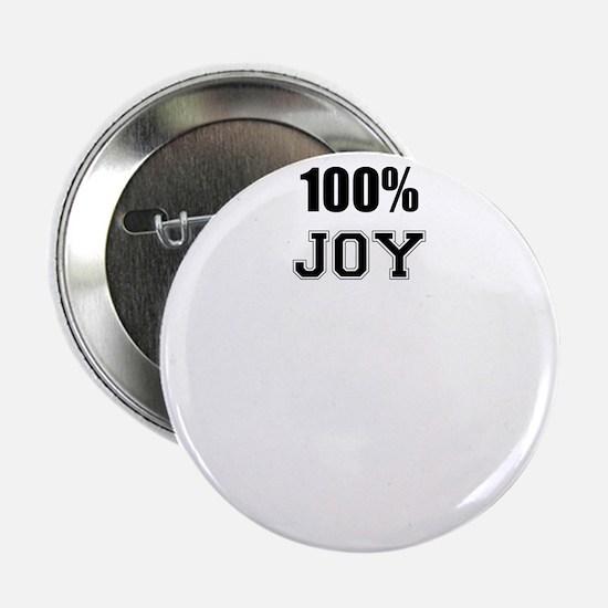 "100% JOY 2.25"" Button"