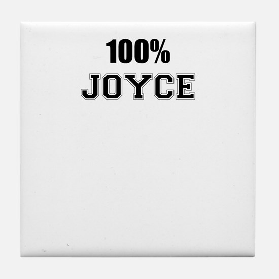 100% JOYCE Tile Coaster
