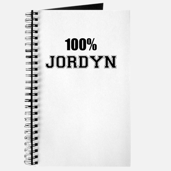100% JORDYN Journal
