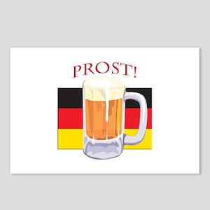 German Beer Prost Postcards (Package of 8)
