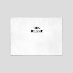 100% JOLENE 5'x7'Area Rug