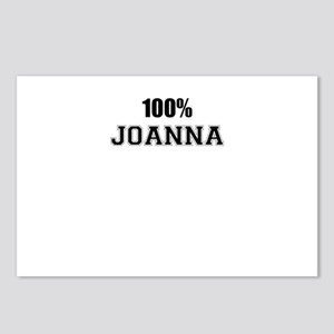 100% JOANNA Postcards (Package of 8)