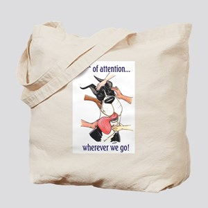 CM Center Of Attention Great Dane Tote Bag