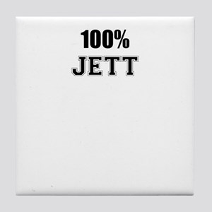 100% JETT Tile Coaster