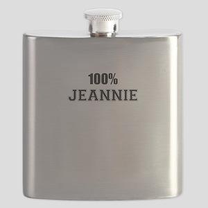 100% JEANNIE Flask