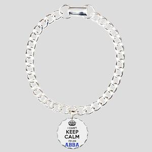I cant keep calm Im ABBA Charm Bracelet, One Charm