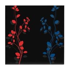 Floral Dreams Tile Coaster