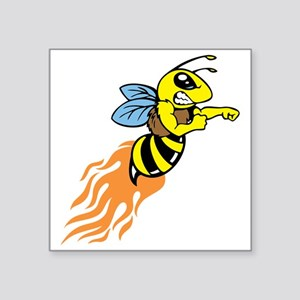 Bee Mascot Sticker