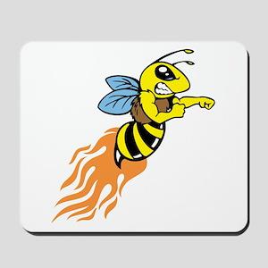 Bee Mascot Mousepad