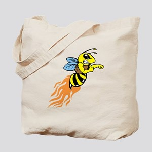 Bee Mascot Tote Bag