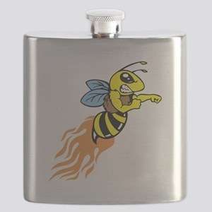 Bee Mascot Flask