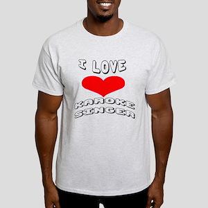 I love Karaoke Singer Games Light T-Shirt
