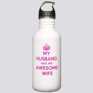 mu husband has an awes Stainless Water Bottle 1.0L