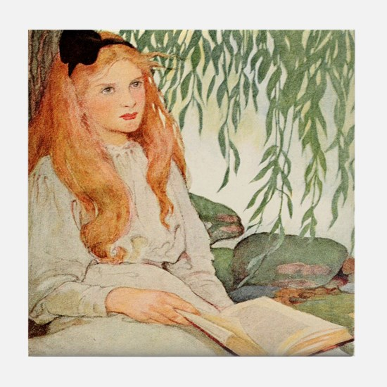7 Ages of Children by Jessie Wilcox Smith Tile Coa