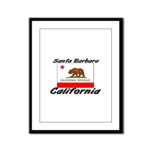 Santa Barbara California Framed Panel Print