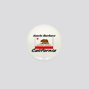 Santa Barbara California Mini Button