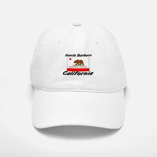 Santa Barbara California Baseball Baseball Cap