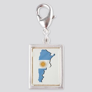Argentina Flag Map Charms